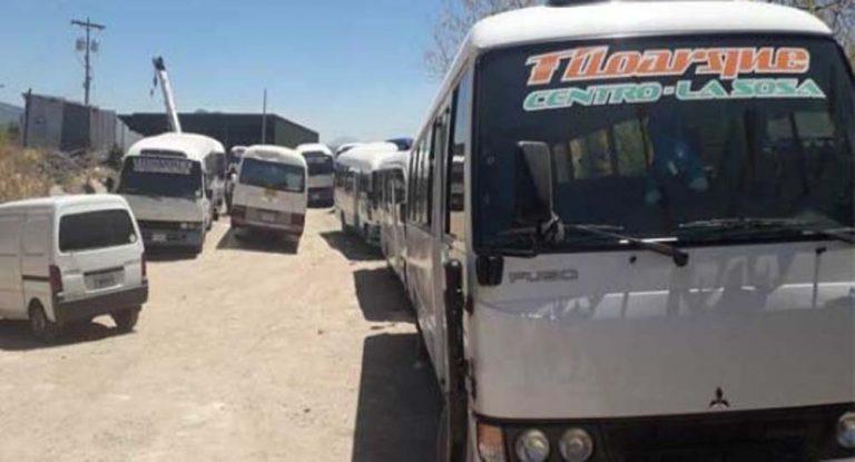 Transportistas: No hay instrucciones del IHTT; cobradores seguirán trabajando