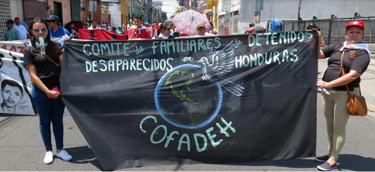 Cofadeh: Eliminarán delito de desaparición de personas de nuevo Código Penal