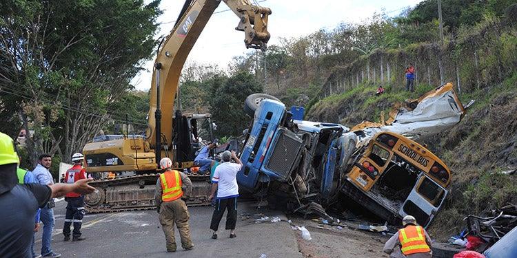 Honduras: cinco muertes por accidentes viales en fiestas de fin de año