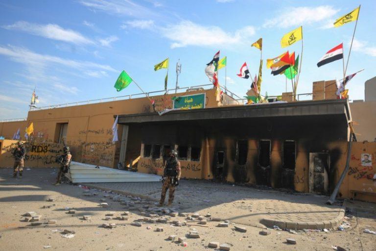 Dos cohetes impactan cerca de la embajada de Estados Unidos en Irak