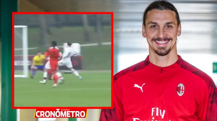 ¿El primero de muchos? Ibrahimovic ya anotó con la camisa del Milan