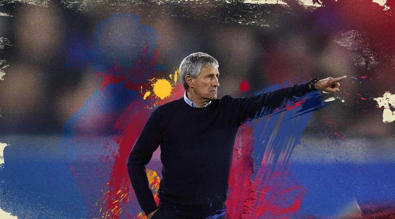 Quique Setién toma las riendas del Barcelona hasta 2022