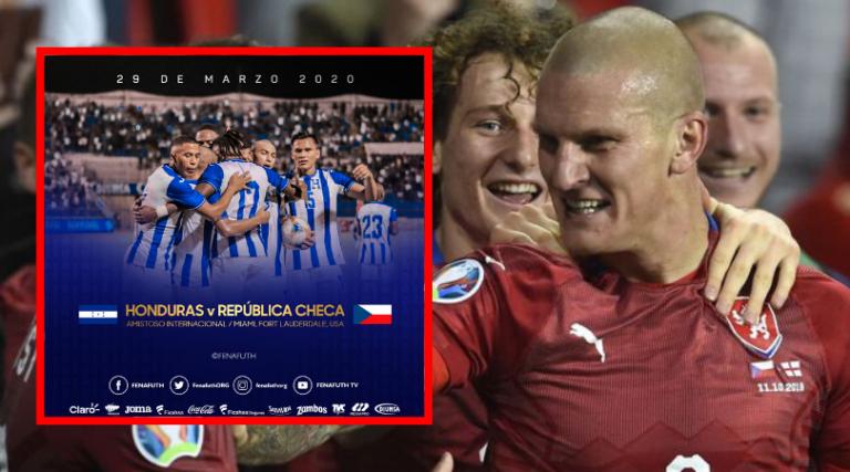 FENAFUTH: República Checa primer rival de Honduras en 2020