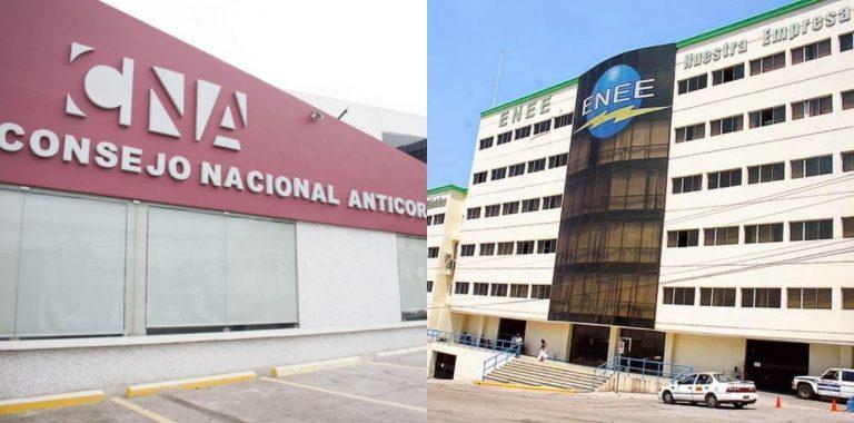 """CNA denuncia """"lamparazo"""" en la ENEE, en administración de Jesús Mejía"""
