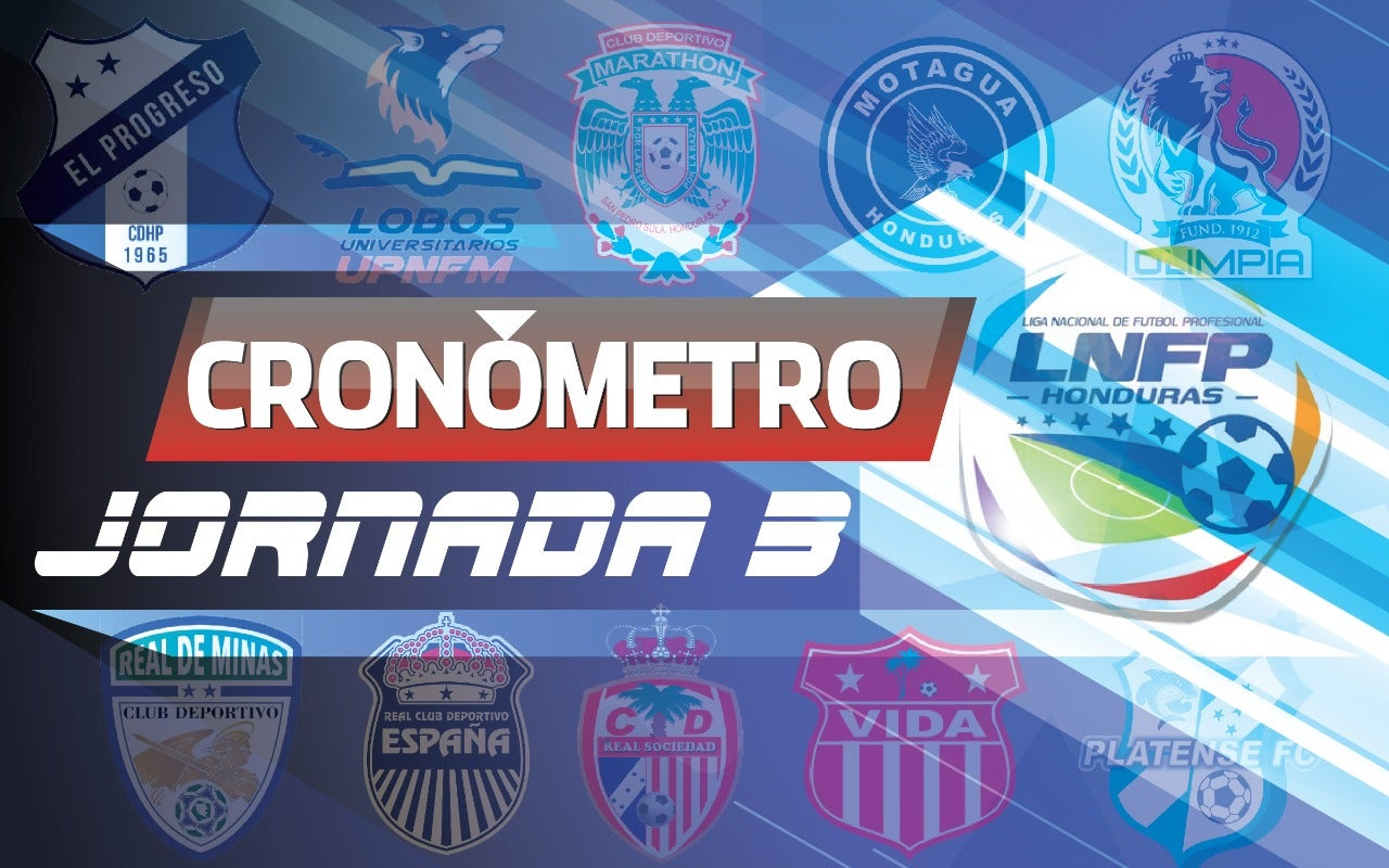 CARTELERA: Así se jugará la tercera jornada del Clausura 2020