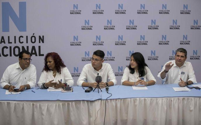 Oposición de Nicaragua crea Coalición Nacional anti Daniel Ortega