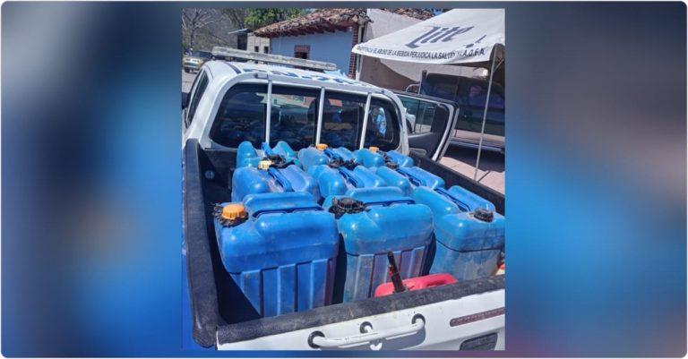 La Paz: decomisan más de 100 galones de combustible; detienen al propietario