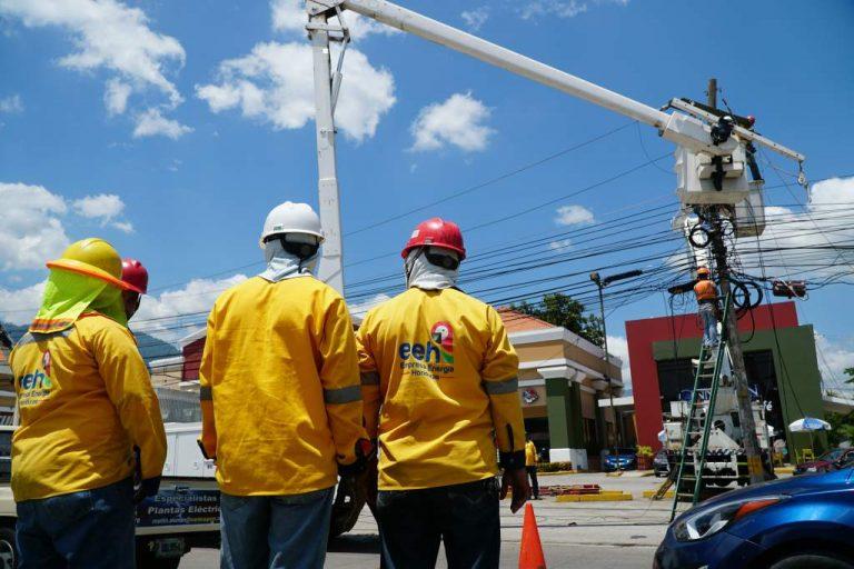 SÁBADO: masivos cortes de energía para la zona central de Honduras