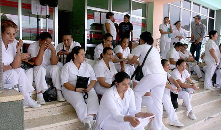 enfermeras auxiliares
