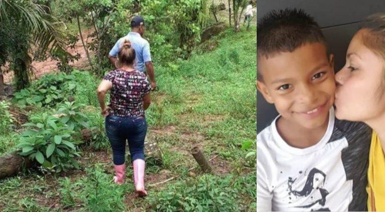 En montañas de Tela, madre de Enoc Misael Pérez Chinchilla lo busca con desespero