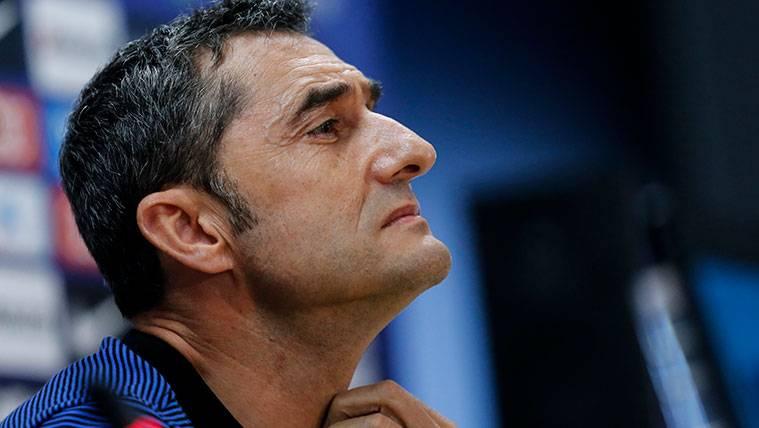 Trasciende salida de Ernesto Valverde del Barcelona