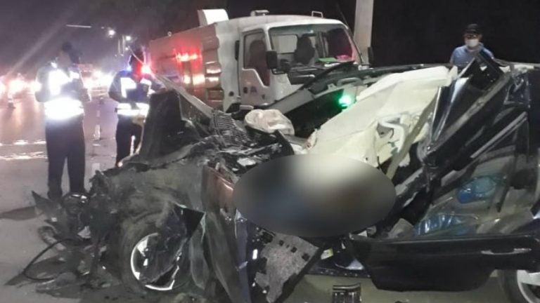 SPS: joven muere al impactar su vehículo contra camión de Sulambiente