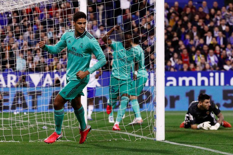 Real Madrid vapulea 4-0 al Real Zaragoza por la Copa del Rey