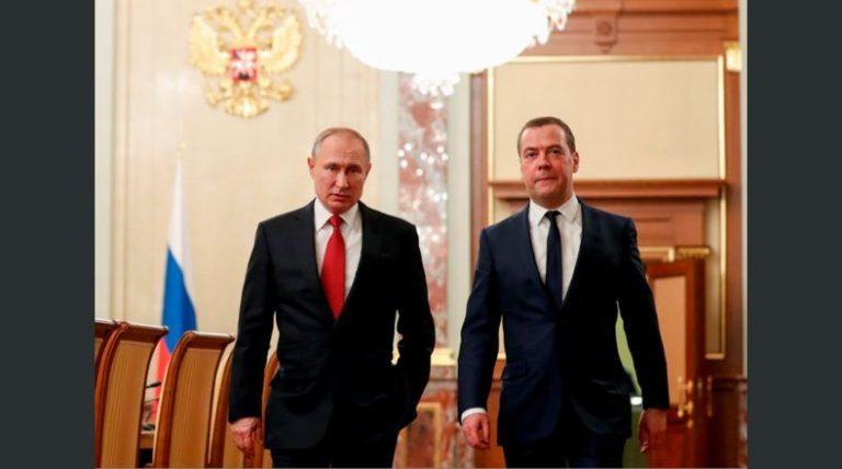 Renuncia gabinete de Rusia porque Putin quiere reformar Constitución