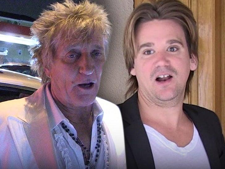 Rod Stewart y su hijo acusados de agredir al guardia de un hotel