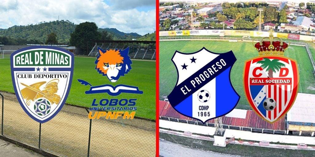 HOY: UPNFM visita Danlí y Honduras Progreso recibe a la Real Sociedad