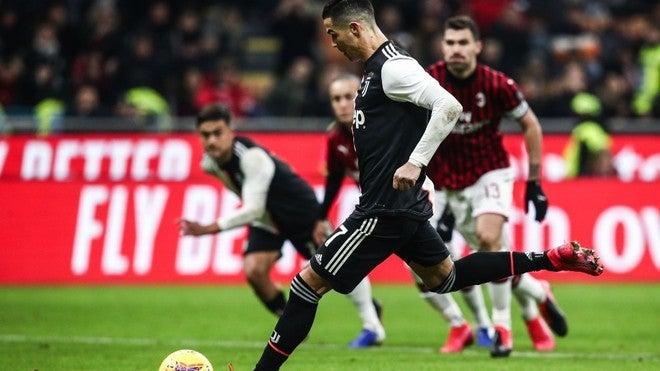 Copa Italia: Juventus arrebata victoria al Milan y saca ajustado empate en San Siro