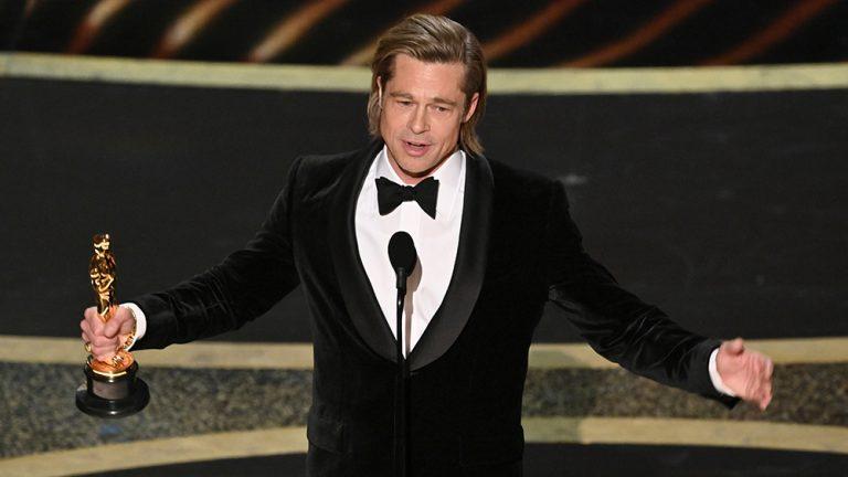 ¡Por fin! Brad Pitt gana su primer Oscar como actor