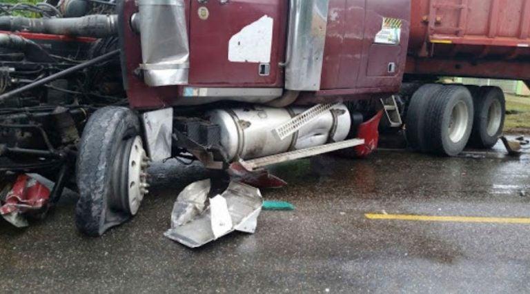 Sobrepeso provoca accidentes de rastras, según transportista
