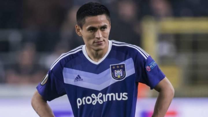«Andy Najar estaba para otro nivel», asegura exentrenador del Anderlecht