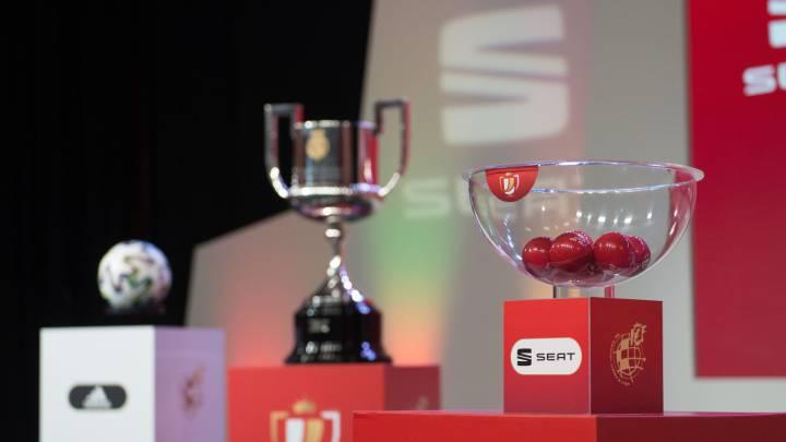 Definidos los cruces de semifinales de la Copa del Rey
