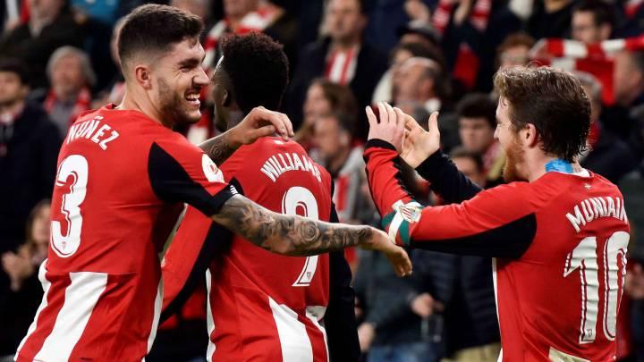 Copa del Rey: Athletic de Bilbao le ganó por la mínima al Granada