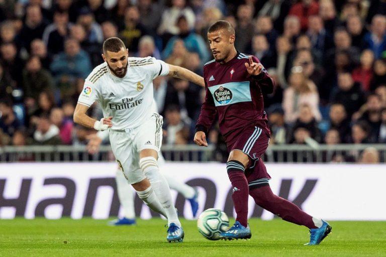 Real Madrid empató ante el Celta y cedió terreno al Barcelona