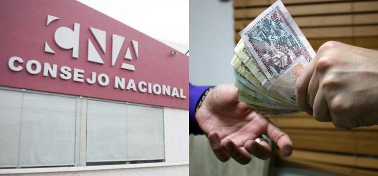 CNA: Anualmente L 65 mil millones van a parar a manos de los corruptos