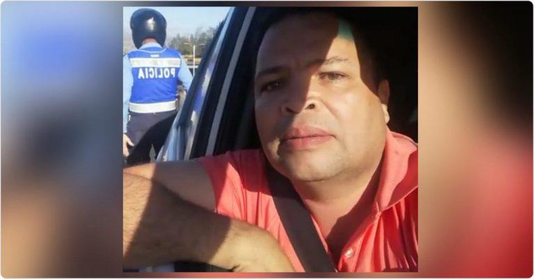 Detienen a diputado Jari Dixon por infracción vial; denuncia amenaza a muerte