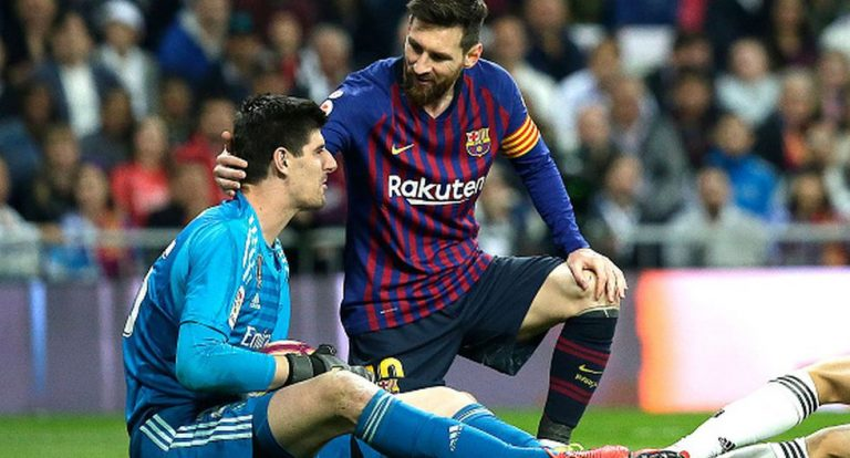 "Thibaut Courtois: ""Messi es como cualquier otro jugador"""