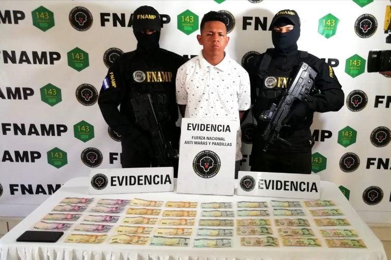 FNAMP captura a miembro de la Mara Salvatrucha vinculado a extorsión