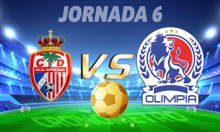 HOY: Real Sociedad y Olimpia se enfrentan en el estadio de Tocoa