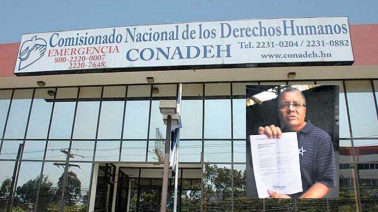Conadeh: denuncias por amenazas a Rony Figueroa se remitieron al MP
