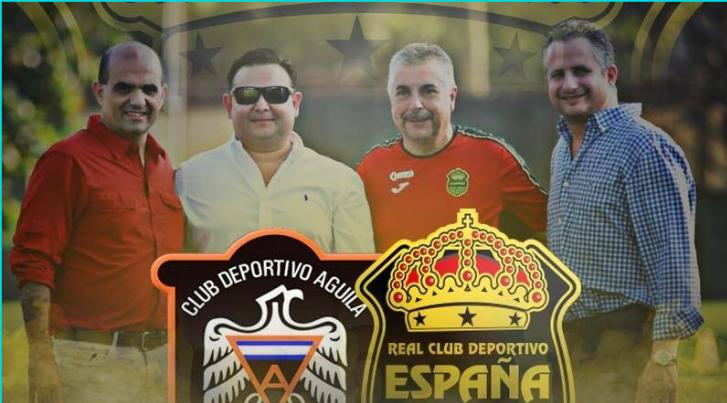 Real España enfrentará al Águila de El Salvador en amistoso