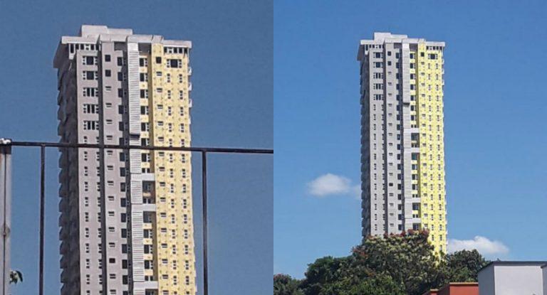 "Bomberos inspeccionan Torre Igvana: ""Todo está normal"""