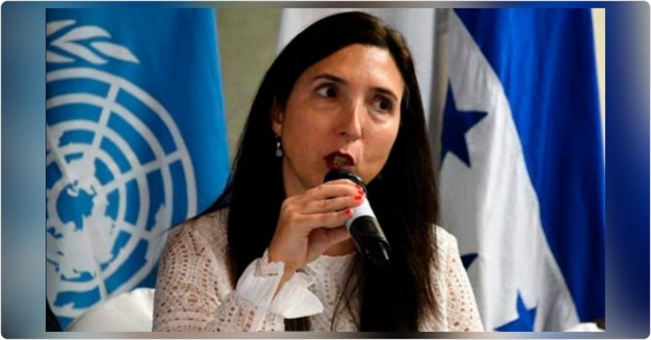 María Soledad Pazo dejará su posición como titular de OACNUDH; se va del país
