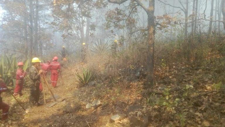 Bomberos: incendio en Upare controlado; vigilan posible reactivación
