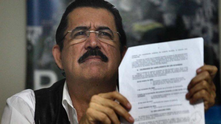 """""""Mel"""" Zelaya pide justicia al MP por muertes registradas en 2017"""