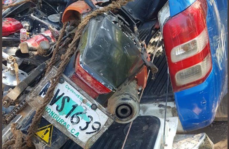 Lo capturan con cuatro motocicletas con reporte de robo en Intibucá