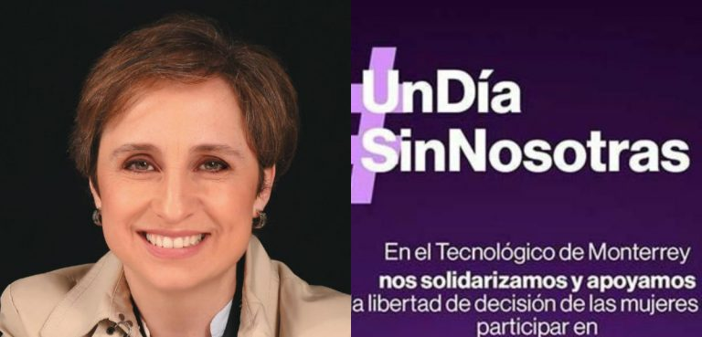 México: Carmen Aristegui se suma al paro nacional «Un día sin nosotras»