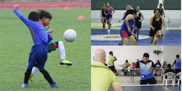 SPS: Municipalidad realiza torneo de tenis de mesa, fútbol y baloncesto