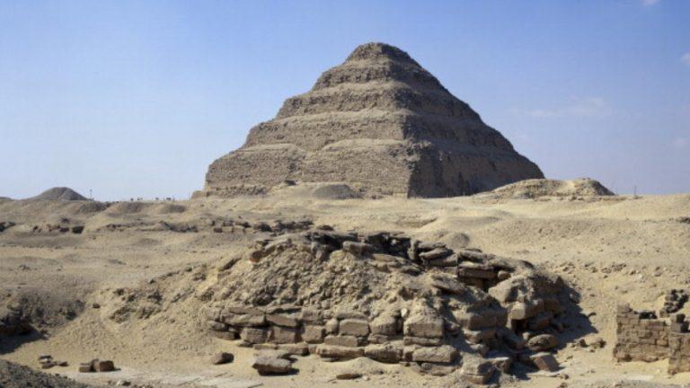 Egipto: reabren pirámide antigua tras 14 años en restauración