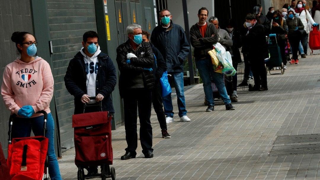 España: 3,400 muertos por Covid-19; supera a China