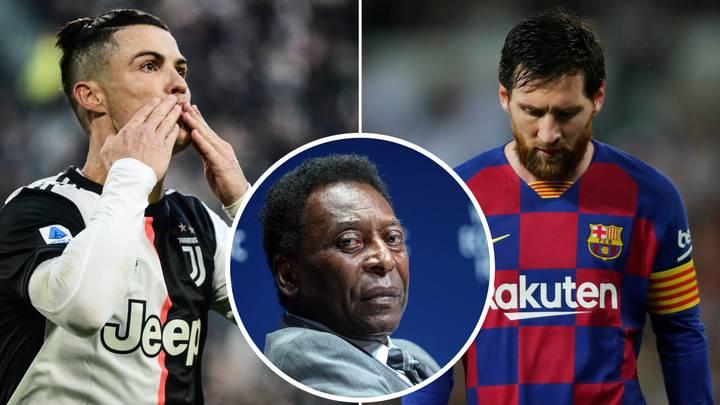Pelé explica por qué Cristiano Ronaldo es mejor que Lionel Messi