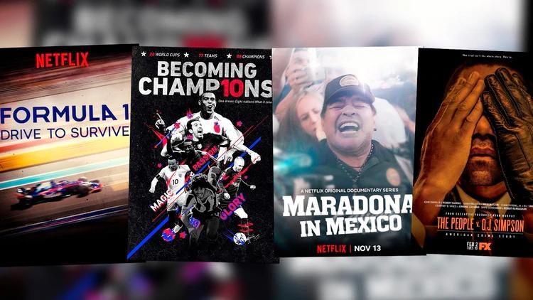 Estas son las series de deportes que puedes ver en cuarentena