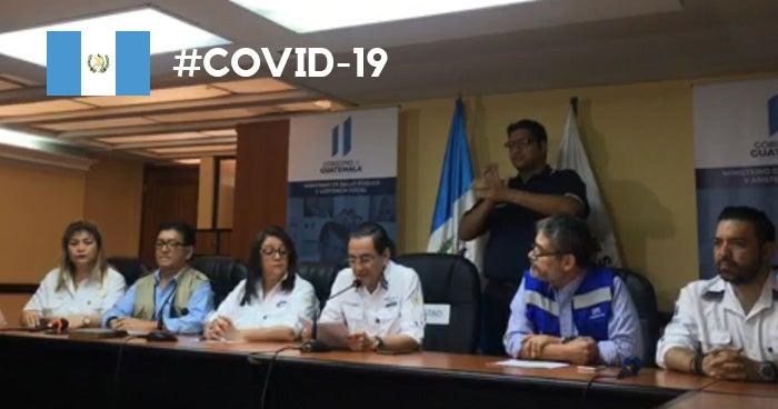 Guatemala registra la primera muerte por Covid-19, un hombre de 85 años