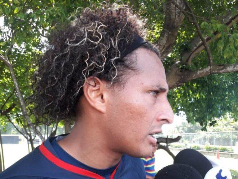 """Kevin Hernández: """"A este equipo lo encontré en primera división y ahí lo voy a dejar"""""""