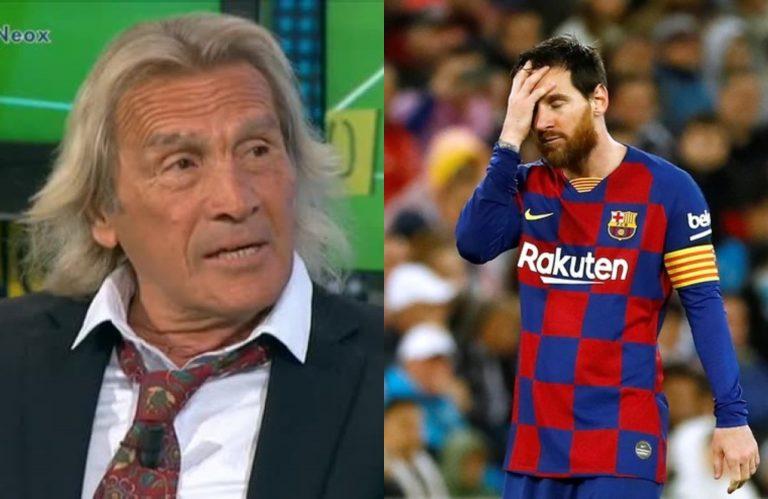 "Hugo Gatti: ""Messi no apareció, parece un jugador retirado"""