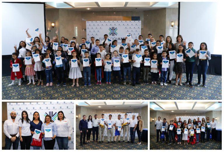 """Fundación Kafie entrega 186 becas bajo el programa """"PROGRESA"""""""