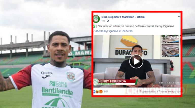 Henry Figueroa se confiesa: «Esto es fútbol, fue una falla mía»